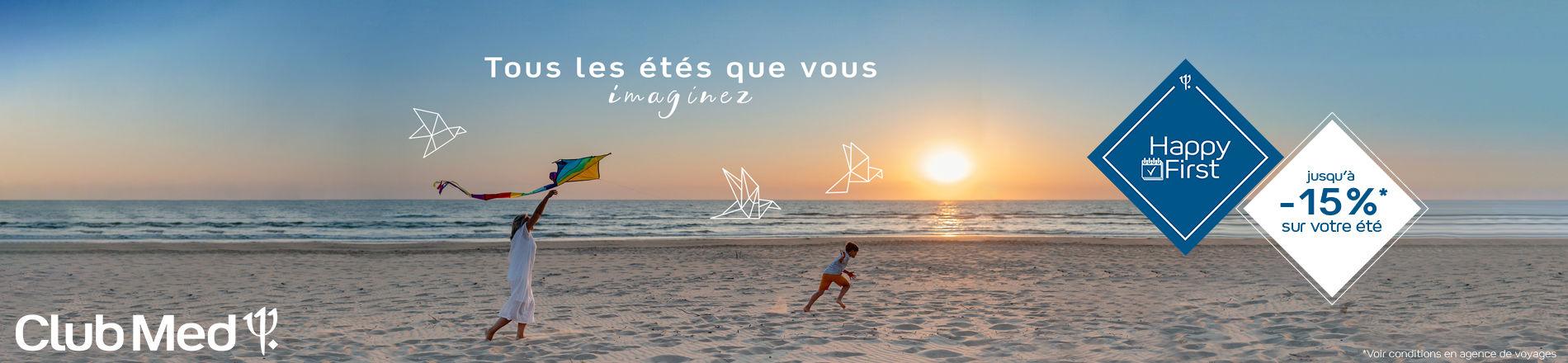 Ouverture des réservations Club Med été 2022